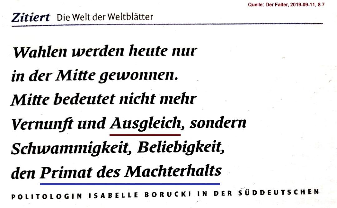 2019-09-12_Der-Falter_Zitat-Isabelle-Borucki_Wahlen-werden-in-der-Mitte-gewonnen