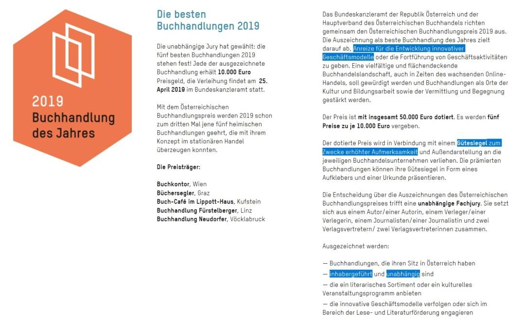 2019-06-03_Buchhandlung-des-Jahres_Oesterreichischer-Buchhandlungspreis