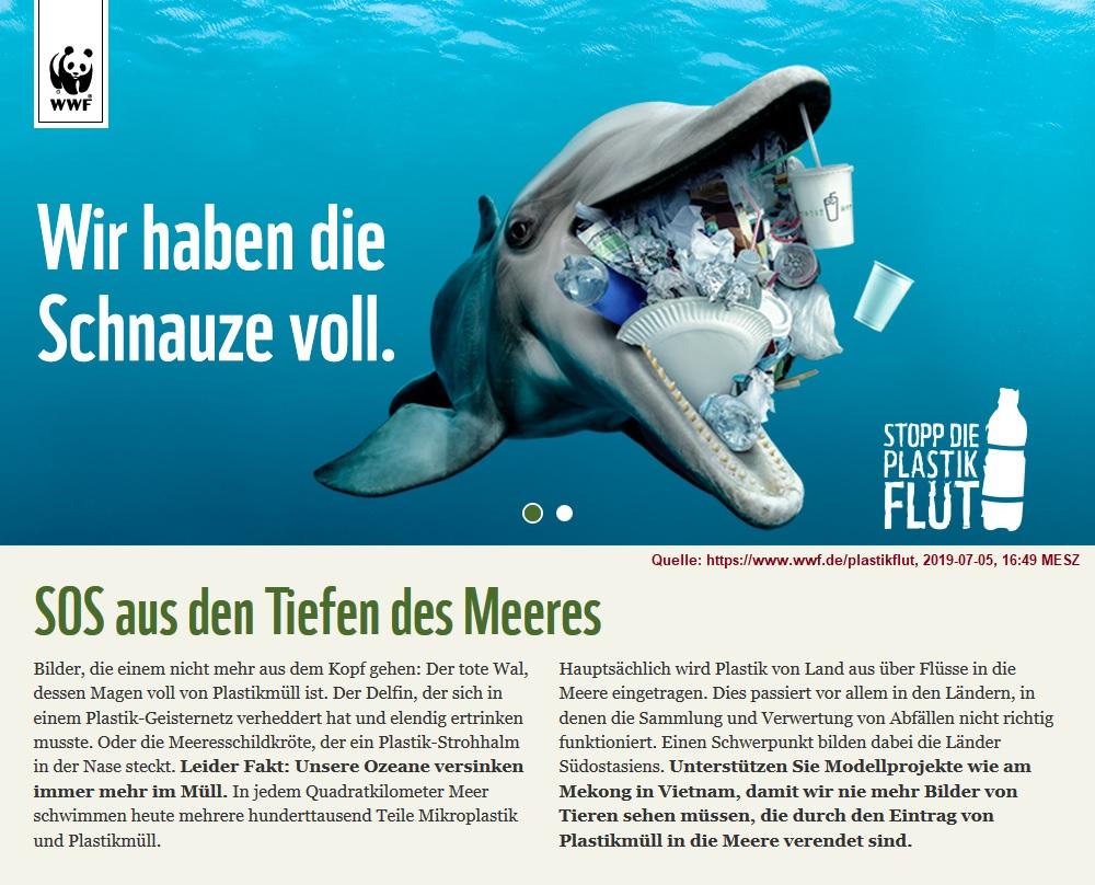 2019-07-05_WWF-Aktion-Plastikflut_Wir-haben-die-Schnauze-voll