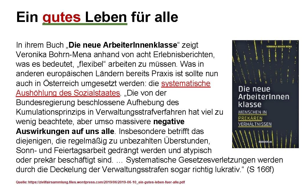 2019-09-30_Ausschnitt-Flugblatt_ein-gutes-leben-fuer-alle_veronika-bohrn-mena_neue-arbeiterInnenklasse