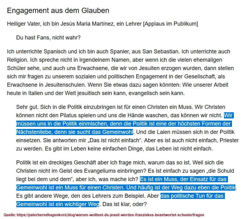2019-11-25_Papst-Franziskus_Gemeinwohl_Juni-2013